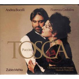 A. Bocelli e F. Cedolins - Z. Mehta CD Tosca - Puccini Sigillato 0028947392026