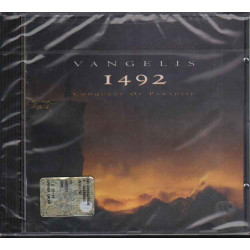 Vangelis CD 1492 Conquest Of Paradise OST Soundtrack / EastWest Sigillato