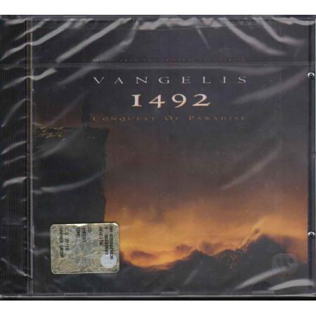 Vangelis CD 1492 Conquest Of Paradise OST Soundtrack / EastWest Sigillato