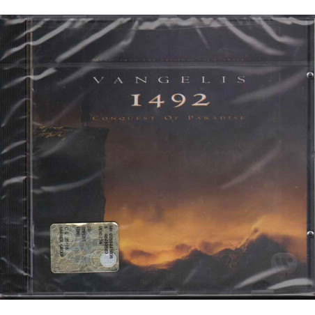 Vangelis CD 1492 Conquest Of Paradise OST Soundtrack Sigillato 0745099101428