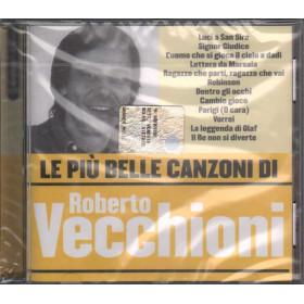 Roberto Vecchioni CD Le piu' belle canzoni di Nuovo Sigillato 5050467967823