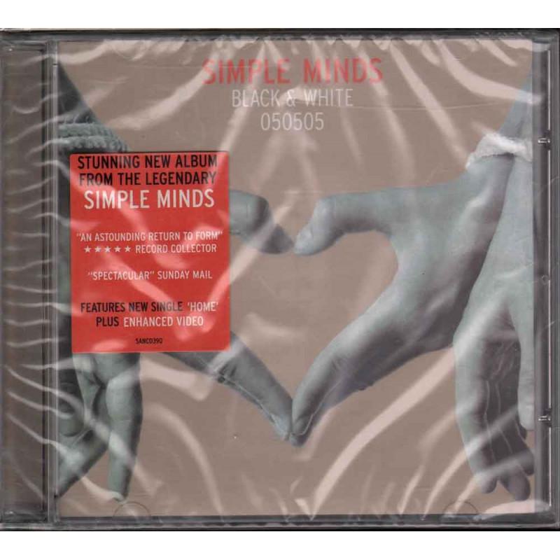 Simple Minds CD Black & White 050505 Nuovo Sigillato 5050159039029