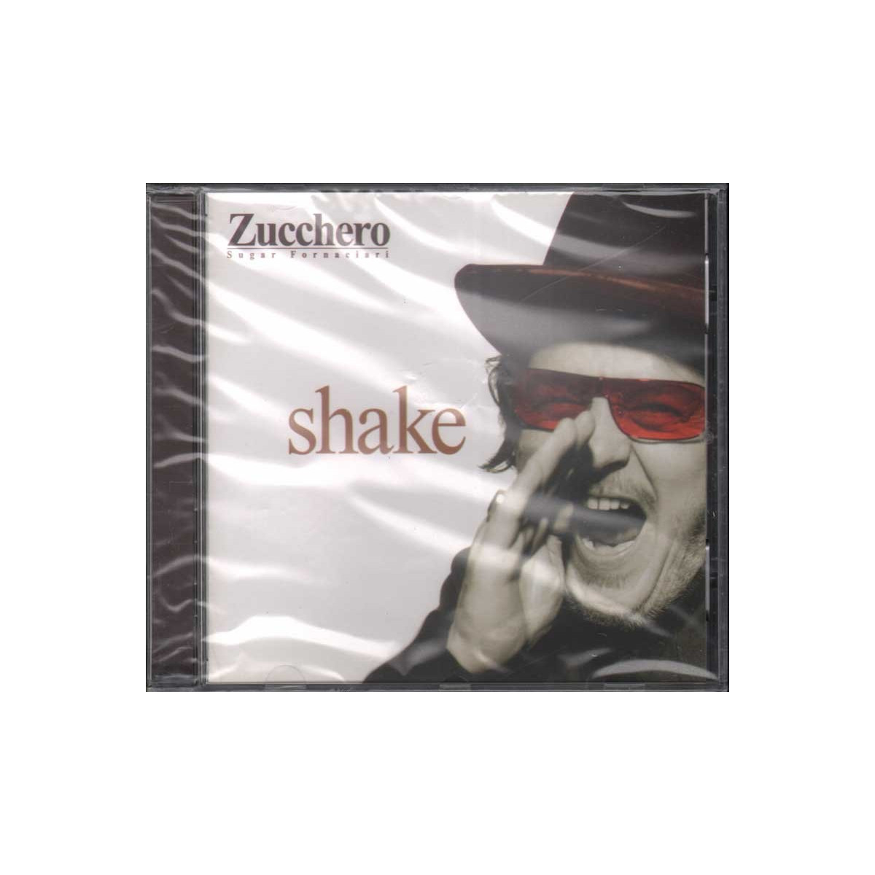 Zucchero CD Shake Nuovo Sigillato 0731458974826