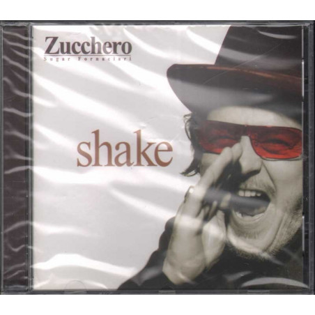 Zucchero CD Shake / Polydor Sigillato 0731458974826