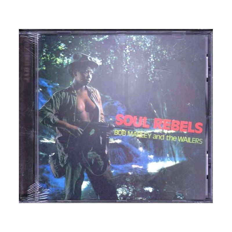 Bob Marley & The Wailers CD Soul Rebels Nuovo Sigillato 0602498667446