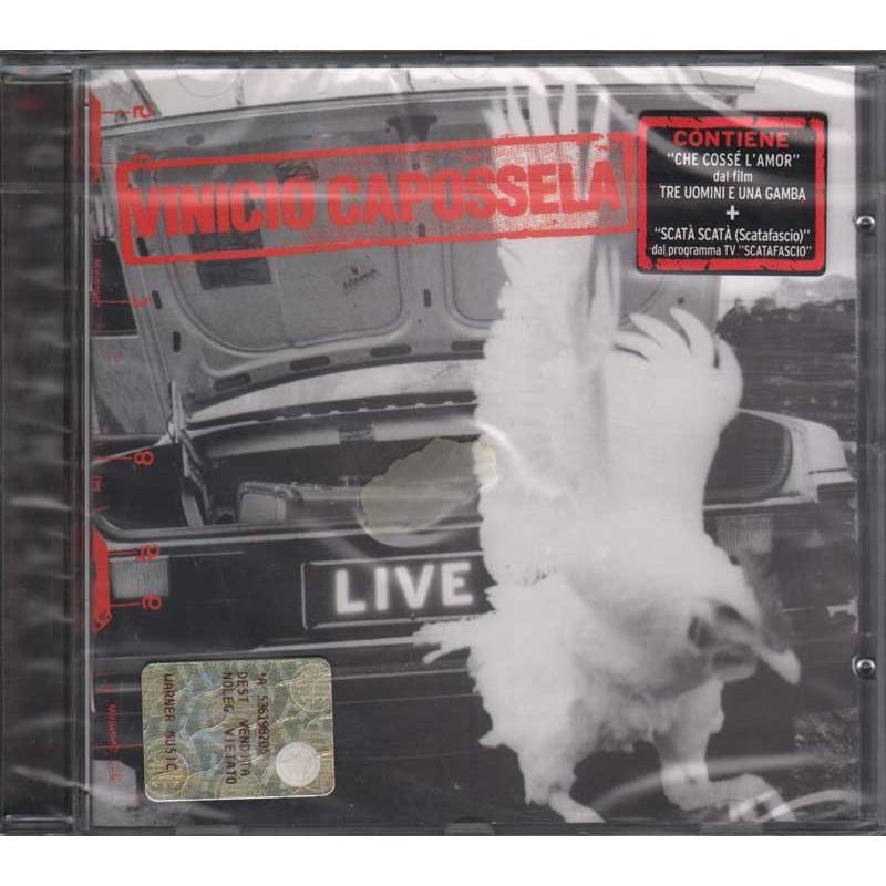 Vinicio Capossela CD Live In Volvo Liveinvolvo Nuovo Sigillato 0639842245425