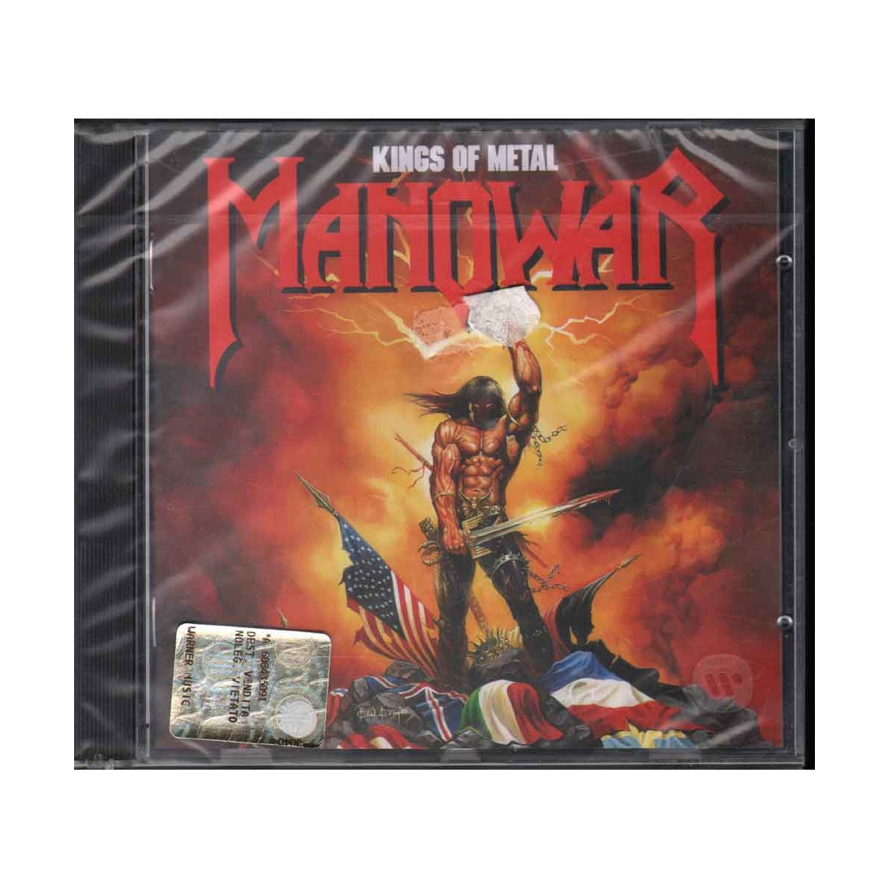 Manowar CD Kings Of Metal Nuovo Sigillato 0075678193026