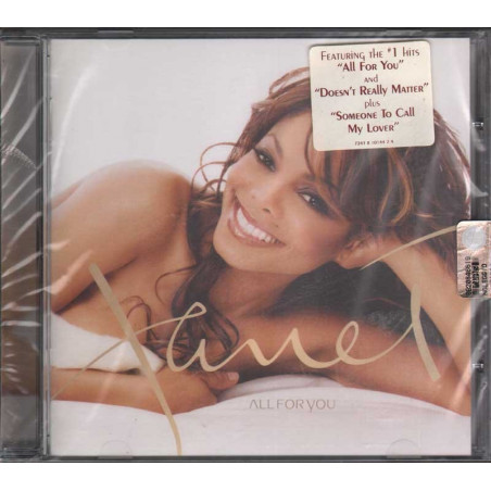 Janet Jackson ‎‎CD All For You Nuovo Sigillato 0724381014424