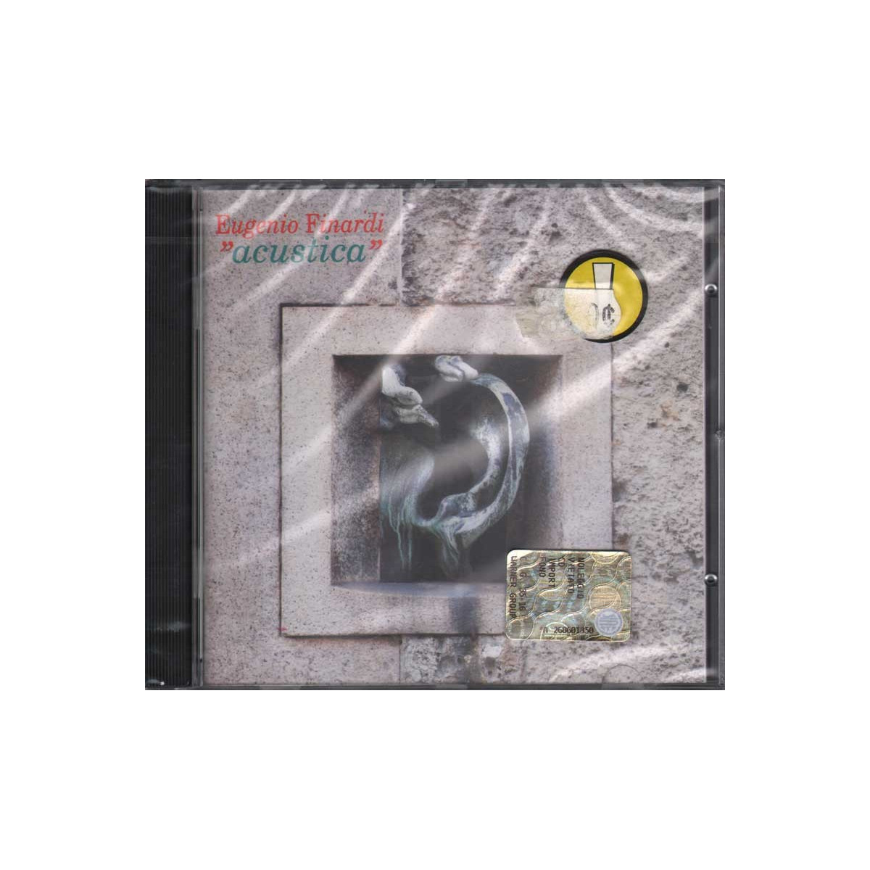 Eugenio Finardi CD Acustica Nuovo Sigillato 0745099276423